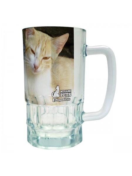 Tarro Cervecero Grande Gatos