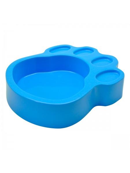 Plato Huella Azul